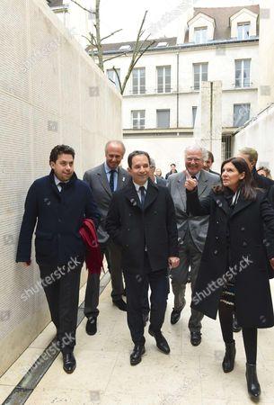 Editorial image of Benoit Hamon visits the Shoah memorial, Paris, France - 21 Feb 2017