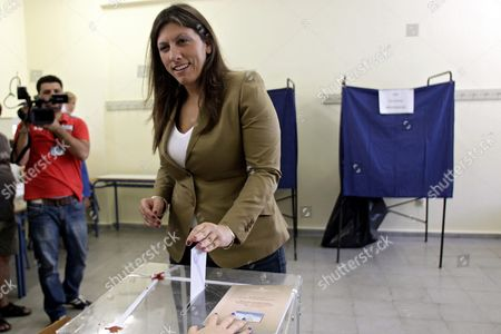 Editorial photo of Greece Heading to Polls in General Elections - Sep 2015