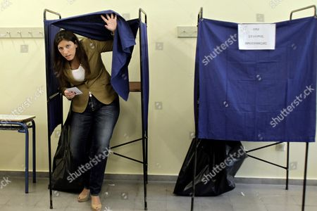 Editorial picture of Greece Heading to Polls in General Elections - Sep 2015