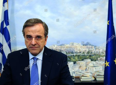 A Picture Made Available 05 July 2015 Shows Former Greek Prime Minister and Leader of the Opposition Party New Democracy Antonis Samaras in Athens Greece 03 July 2015 Samaras Said He is Resigning After a Strong Majority of Voters Appeared to Have Rejected Creditors' Bailout Terms