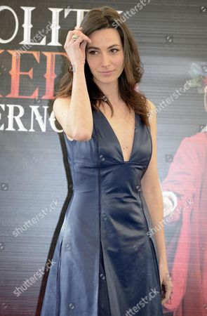 Italian Actress/cast Member Daniela Virgilio Poses During the Photocall For the Movie 'La Solita Commedia-inferno' in Rome Italy 12 March 2015 the Movie Will Be Released in Italian Theaters On 19 March