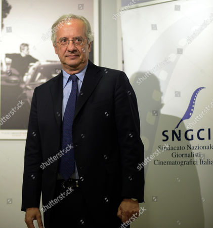 Italian Politician Journalist and Director Walter Veltroni Arrives For the 2015 Nastri D'argento (silver Ribbon) Awards Ceremony in Rome Italy 03 March 2015 the Awards Are Presented Annually by Sindacato Nazionale Dei Giornalisti Cinematografici Italiani (sngci) the Association of Italian Film Critics