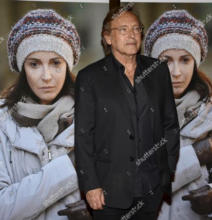 French Algerian-born Film Director Alexandre Arcady Arrives For the Red Carpet of His Movie '24 Days' in Rome Italy 06 May 2015