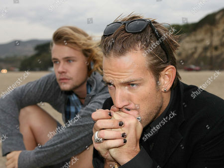 Brawley Nolte and Sean Brosnan at Westward Beach