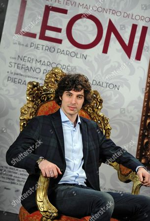 Italian Actor/cast Member Pierpaolo Spollon Poses For Photographs During the Photocall For the Movie 'Leoni' in Rome Italy 29 January 2015 the Movie Will Be Released in Italian Theaters On 05 February