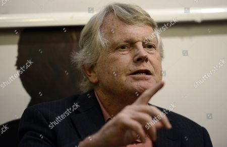 A Picture Made Available On 19 November 2014 Shows British Conservative Politician and Author Michael Dobbs Speaks During a Press Conference where He Presented His Novel House of Cards in Rome Italy 18 November 2014