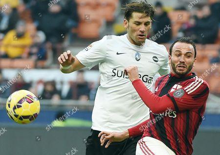 Editorial picture of Milan - atalanta - Jan 2015