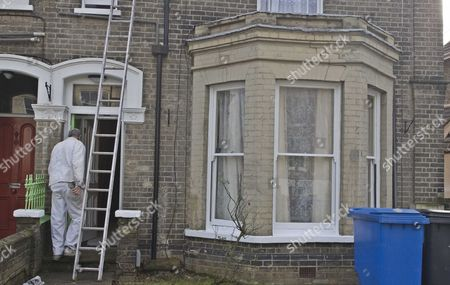 No 79 London Road, the former rented home of convicted murderer Steve Wright now being redecorated