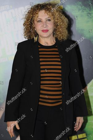 Italian Actress/cast Member Iaia Forte Poses During the Photocall of 'Ho Ucciso Napoleone' (i Killed Napoleon) in Rome Italy 24 March 2015 the Movie Will Be Released On 26 March in Italian Theaters