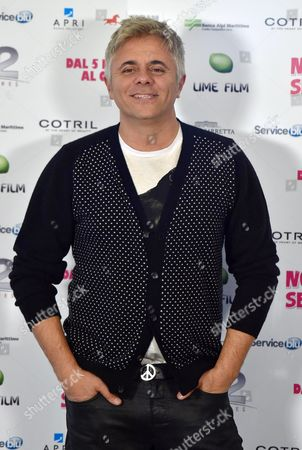 Italian Actor/cast Member Dino Abbrescia Poses During the Photocall For 'Non C'e' 2 Senza Te' (lit: There is No 'Second Without You) in Rome Italy 28 January 2015