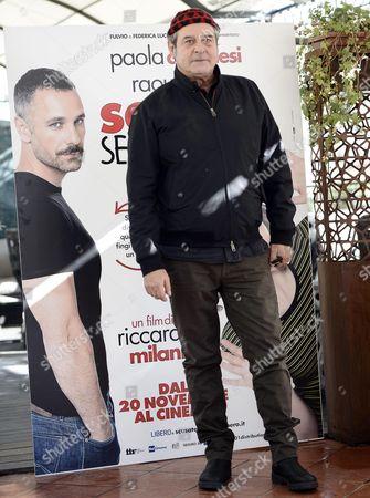 Italian Actor and Cast Member Ennio Fantastichini Poses During a Photocall For 'Scusate Se Esisto!' in Rome Italy 14 November 2014 the Movie Will Be Released in Italian Theaters On 20 November