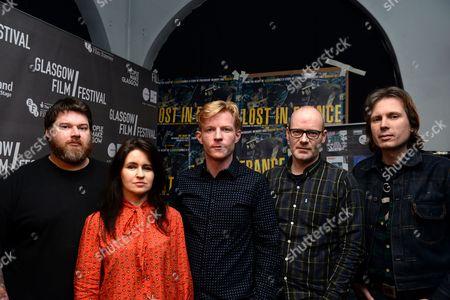 Stock Picture of RM Hubbert, Emma Pollock, Niall McCann, Paul Savage and Alex Kapranos
