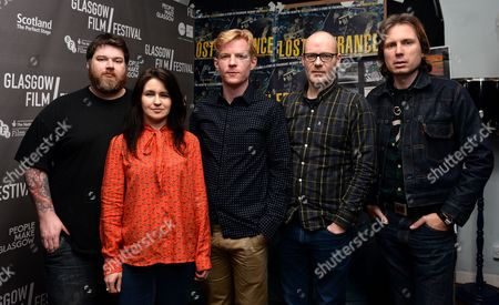 Editorial image of 'Lost in France' film screening and live music performance of The Maurons, O2 Academy Glasgow, Glasgow Film Festival, Scotland - 21 Feb 2017