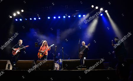 Editorial photo of 'Lost in France' film screening and live music performance of The Maurons, O2 Academy Glasgow, Glasgow Film Festival, Scotland - 21 Feb 2017