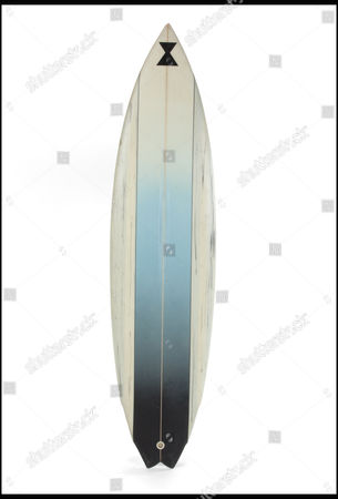 Patrick Swayze's custom made surfboard for Point Break is estimated at £4,790