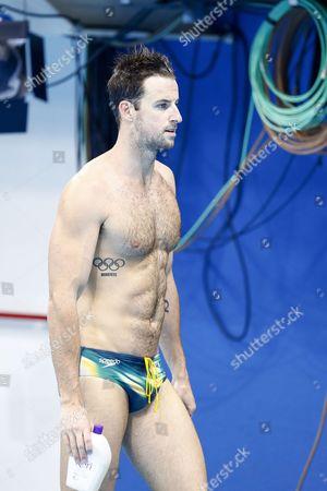 Swimmer James Magnussen of Australia During Training Sessions at the Olympic Aquatics Stadium at the Olympic Park in Rio De Janeiro Brazil 01 August 2016 Brazil Rio De Janeiro