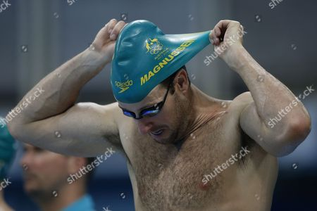 James Magnussen of Australia Trains at the Olympic Aquatics Stadium of the Olympic Park in Rio De Janeiro Brazil 02 August 2016 the Rio 2016 Olympics Will Take Place From 05 Until 21 August 2016 Brazil Rio De Janeiro