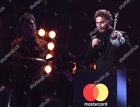 Duncan Jones and Noel Gallagher