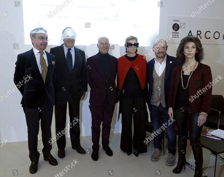 Norman Foster, Elena Ochoa and Carlos Falco