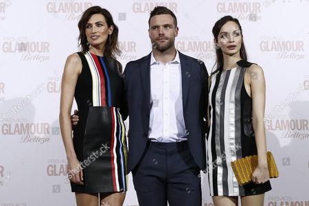 Nieves Alvarez, Nick Youngquest and Luma Grothe