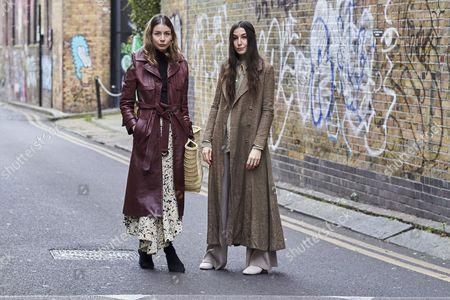 Editorial photo of Street Style, Day 5, Autumn Winter 2017, London Fashion Week, UK - 21 Feb 2017