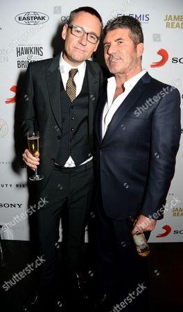 Jason Iley and Simon Cowell