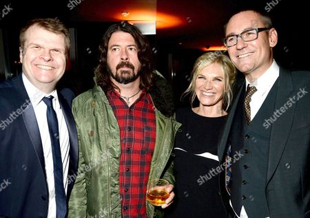 Rob Stringer, Dave Grohl, Jo Whiley and Jason Iley
