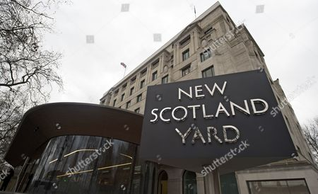 Exterior view on the New Scotland Yard headquarters in Central London, Britain, 22 February 2017. Cressida Dick has been named the new Metropolitan Police Commissioner taking over from Sir Bernard Hogan-Howe and will be the first female commissioner in the history of the Metropolitan Police.