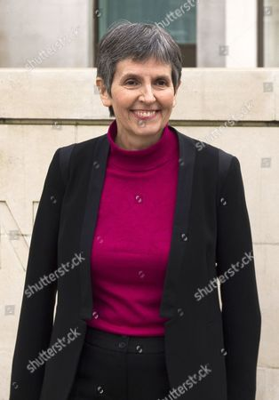 The New Metropolitan Police Commissioner Cressida Dick poses for photographs outside New Scotland Yard in London, Britain, 22 February 2017. Dick takes over from Sir Bernard Hogan-Howe and will be the first female commissioner in the history of the Metropolitan Police.