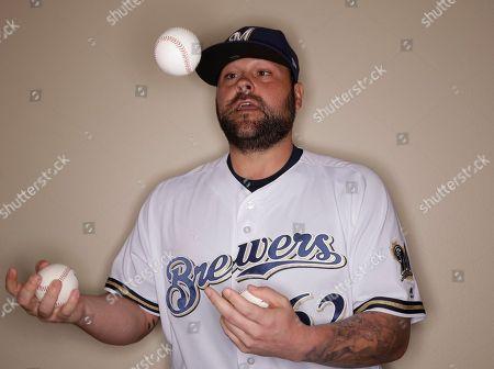 Editorial photo of Brewers Spring Baseball, Phoenix, USA - 22 Feb 2017
