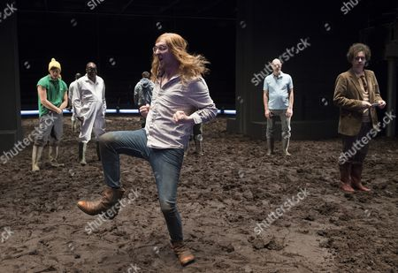 Editorial image of 'A Midsummer Night's Dream' performed at the Young Vic Theatre, London, UK, 22 Feb 2017