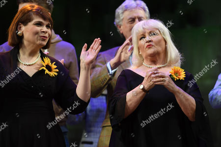 Debbie Chazan and Michele Dotrice
