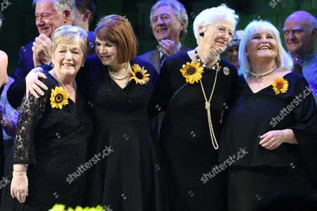 Ros Fawcett, Debbie Chazen, Beryl Bamforth and Michele Dotrice
