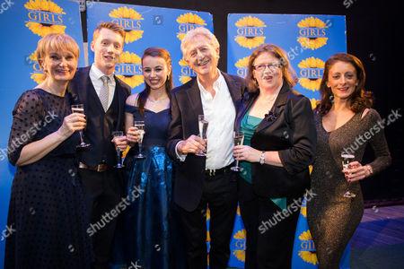 Stock Picture of Jane Lambert, Frazer Hadfield, Victoria Blackburn, Jeremy Clyde, Shirley Jameson and Rebecca Louis