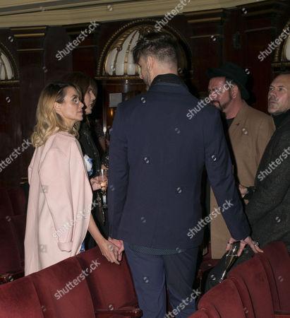 Dannii Minogue with her boyfriend