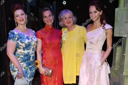 Editorial image of Press night for 'The Girls' at The Phoenix Theatre London, UK - 21 Feb 2017