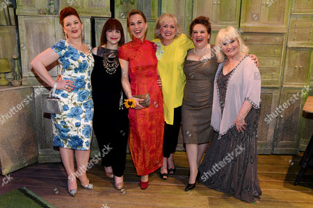 Sophie-Louise Dann, Debbie Chazan, Joanna Riding, Claire Moore, Claire Machin and Michele Dotrice