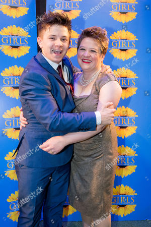 Claire Machin with co-star, Josh Benson