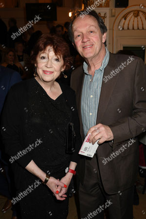 Stock Picture of Kevin Whately with his wife Madelaine Newton
