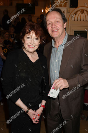 Stock Photo of Kevin Whately with his wife Madelaine Newton