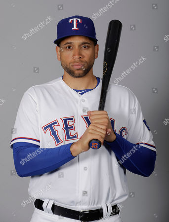This is a 2017 photo of James Loney of the Texas Rangers baseball team. This image reflects the Rangers active roster as of, when this image was taken