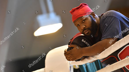Johnathon Banks Coach of Ukrainian Boxer Vladimir Klitschko (not Pictured) at a Training Camp in the Indoor Tennis Centre of the Hotel Stanglwirt in Going in Austria 23 June 2016 Ibf Ibo and Wbo World Boxing Champion Klitschko Will Compete Against British Tyson Fury on 09 July 2016 Austria Going