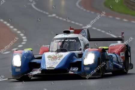 Smp Racing in a Br01-nissan with Vitaly Petrov Victor Shayter and Kirill Ladygin (all of Russia) During the Le Mans 24 Hours Race in Le Mans France 19 June 2016 France Le Mans