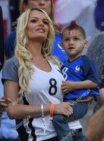 Ludivine Payet Wife of France Player Dimitri Payet in the Stands During the Uefa Euro 2016 Group a Preliminary Round Match Between France and Albania at Stade Velodrome in Marseille France 15 June 2016 (restrictions Apply: For Editorial News Reporting Purposes Only not Used For Commercial Or Marketing Purposes Without Prior Written Approval of Uefa Images Must Appear As Still Images and Must not Emulate Match Action Video Footage Photographs Published in Online Publications (whether Via the Internet Or Otherwise) Shall Have an Interval of at Least 20 Seconds Between the Posting ) France Marseille