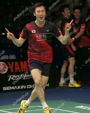 Editorial image of Indonesia Badminton - Jun 2016