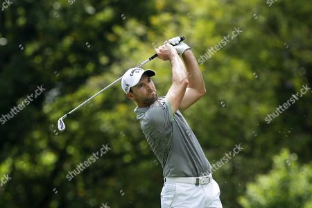 Oliver Wilson of England Watches His Shot During the First Day of the Maybank Championship Golf Tournament in Kuala Lumpur Malaysia 18 February 2016 Malaysia Kuala Lumpur