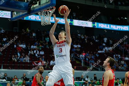 Editorial picture of Philippines Basketball Fiba Olympic Qualifying Tournament - Jul 2016