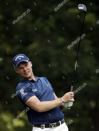Danny Willet of England Watches His Tee Shot on the 5th Hole During the First Round of the Pga Championship Golf Tournament at Baltusrol Golf Club in Springfield New Jersey Usa 28 July 2016 the Pga Championship Runs From 28 July Through 31 July United States Springfield