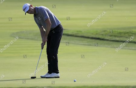 Soren Hansen of Denmark Putts on the Fourth Hole During the First Round of the 116th Us Open Championship at Oakmont Country Club in Oakmont Pennsylvania Usa 16 June 2016 the Tournament Will Be Played 16 June Thorough 19 June United States Oakmont