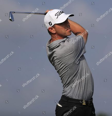 Soren Hansen of Denmark Hits His Tee Shot on the Fifth Hole During the First Round of the 116th Us Open Championship at Oakmont Country Club in Oakmont Pennsylvania Usa 16 June 2016 the Tournament Will Be Played 16 June Thorough 19 June United States Oakmont
